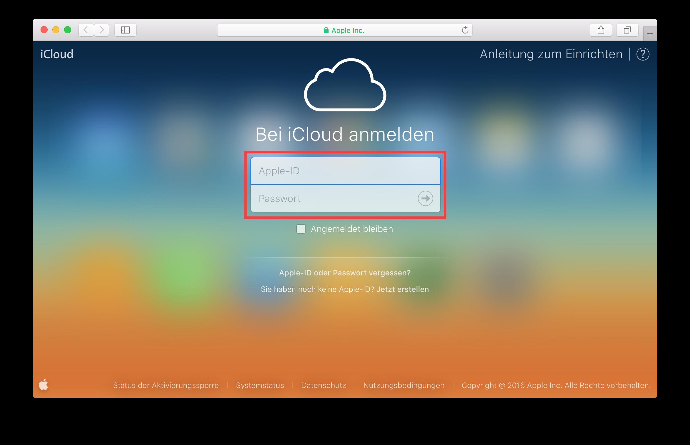 (Deutsch) Öffentlichen Kalender in iCloud erstellen